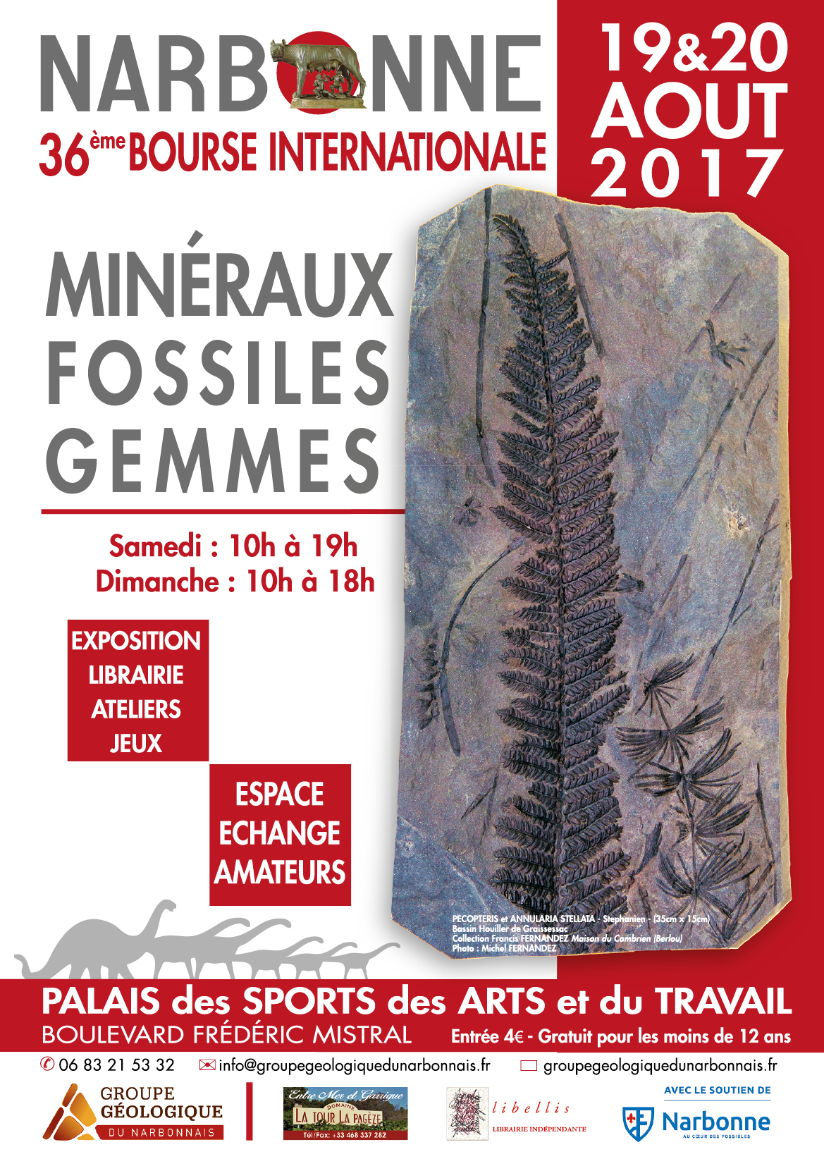 Affiche Narbonne 2017